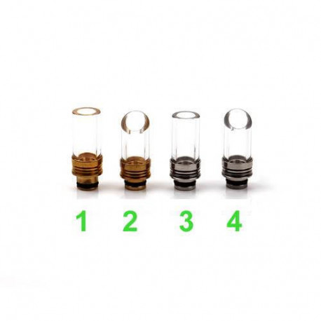 SMOKE-IT - Unikke glas drip tips!