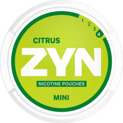 ZYN - Mini Citrus Extra Strong